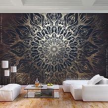 Decomonkey | Fototapete Mandala Modern 350x256 Cm XL | Tapete | Wandbild |  Bild | Fototapeten