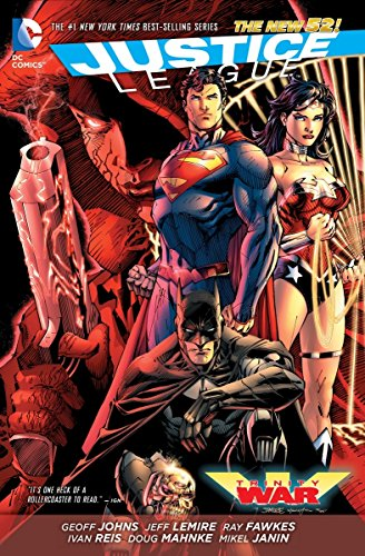 Justice League: Trinity War TP (The New 52) Cover Image