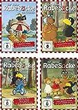 Der kleine Rabe Socke - Die TV-Serie 1-4 im Set - Deutsche Originalware [4 DVDs]