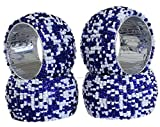 Set of 4 - Blue White Beads Ornament Nap...