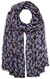 ESPRIT edc by Accessoires Damen Schal 087CA1Q008, Blau (Navy 400), One Size