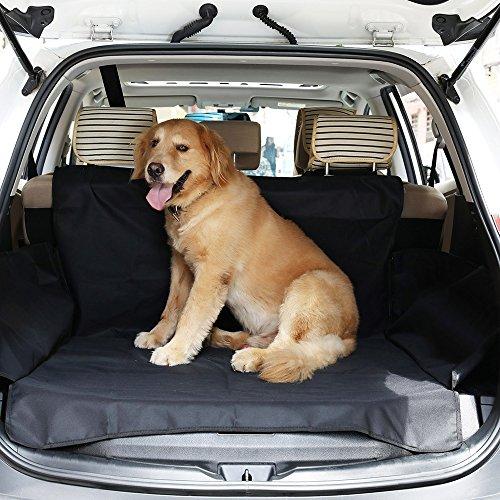 RSYP Kofferraumschutz Hunde Wasserdicht Kofferraumdecke mit Seitenschutz Schneller Einbau 155 * 104 * 33 cm