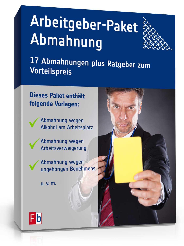 Arbeitgeber-Paket Abmahnung [Zip Ordner] [Download]