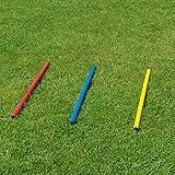 Bild: Stange in 3 Farben Länge 100 cm  32 mm für Agility  Hundetraining blau