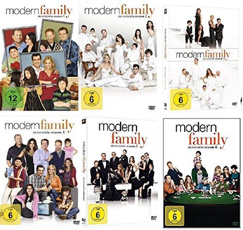 Modern Family - Staffel 1+2+3+4+5+6 (1-6) [DVD Set] -