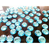 Coser sobre Gem Flatback rhinestonesl redondo 9m Crystal perlas de piedras para coser a mano para vestido de mujer zapatos bolsa 300pcs/lot