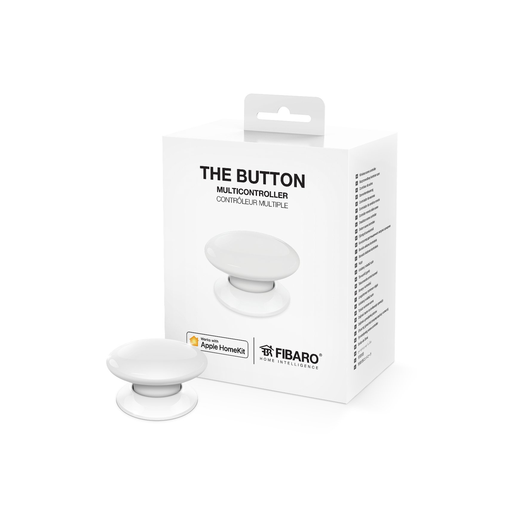 Fibaro The Button blanc pour Apple Homekit