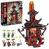 LEGO Ninjago-Il Tempio della Follia Imperiale con Trappole e Tranelli, 6 Minifigures, Jay digi Cole e Il Malvagio Sovrano di Prime Empire Unagami, Set di Costruzioni per Bambini +9 Anni, 71712