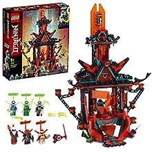 LEGO Ninjago - Il Tempio della Follia Imperiale con Trappole e Tranelli, 6 Minifigure, Digi Jay e Digi Cole e il Malvagio Sovrano di Prime Empire Unagami, Set di Costruzioni per Bambini +9 Anni, 71712