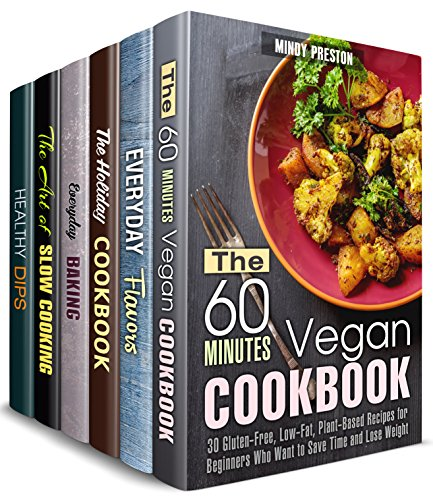 Perfect Taste Box Set (6 in 1): Delicious Vegan Meals, Baked Goods, Dips and Dippers, Holiday Treats and Famous Flavors to Cook Like a Pro (Sauces & Flavors) (English Edition)