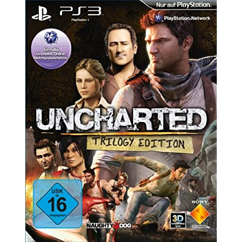 Uncharted Trilogy Edition (Uncharted: Drake's Schicksal + Uncharted 2: Among Thieves + Uncharted 3: Drake's