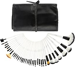 Abody 36Pcs Pennelli Make Up /Spazzola di trucco cosmetico professionale di legno Kit cosmetici Make Up Set + borsa custodia
