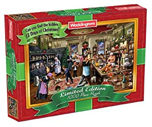 Waddingtons Christmas Puzzle Limited Edition (1000 Pieces)