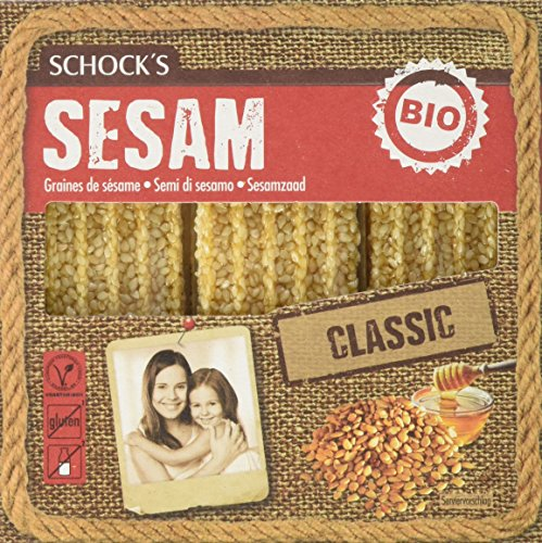 Schock\'s Bio Sesam Krokant, 15er Pack (15x 90 g) - Bio
