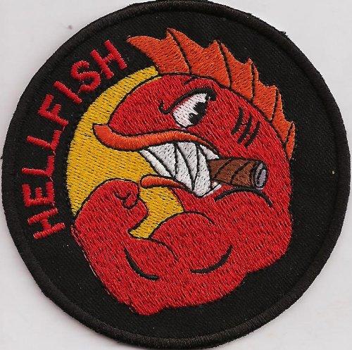 simpsons-la-maledizione-del-volante-hellfish-ww2-comic-patch-aufnaher