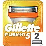 Gillette Fusion Men's Razor Blades, 2 Refills