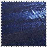 Elastic-Samt, uni, dunkelblau, 150 cm breit, Meterware