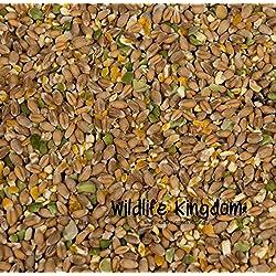 Maíz mezclado Wildlife Kingdom para aves de corral, mezcla de guisantes para pollos, gallinas, patos y gansos