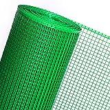 Goplast 1,2m² MASCHENGEWEBE in 1,2m Breite in grün Kunststoffzaun Baustellenzaun Geflügelzaun Hühnerzaun Gartenzaun Zaun Rankhilfe (METERWARE)