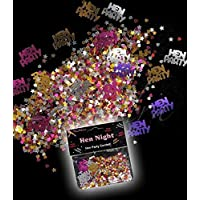 SOLEFAVORS Hen Night Party Table Confetti Sprinkles