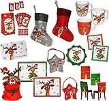 Belldessa 1 Stück _ Tasse -  Das Kleine Rentier - Didi / Weihnachten - ROT  - groß - 330 ml - Porzellan / Keramik - Erwachsene & Kinder - Kindertasse - Kaffeebecher -..