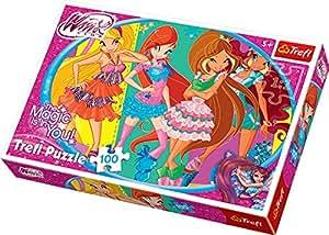 Trefl - 16247 - Puzzle - Winx Club - amis - 100 Pièces
