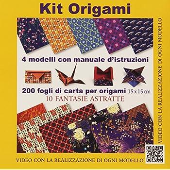 Kit Origami. 10 Fantasie Astratte. Con Gadget