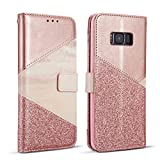 ZCDAYE Wallet Case for Samsung Galaxy S7,Premium Bling