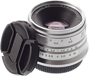 Hersmay 25mm F 1 8 Manueller Fokus Prime Fixed Lens Objektiv Für Sony E Mount Kameras Wie
