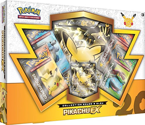 Coffret Pokémon 20th anniversaire septembre 2016 Pikachu Ex version française