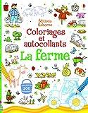 Image de La ferme - Coloriages et autocollants
