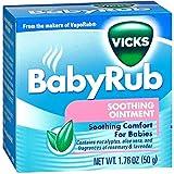 Vicks Baby Rub Soothing Ointment 1.76 oz...
