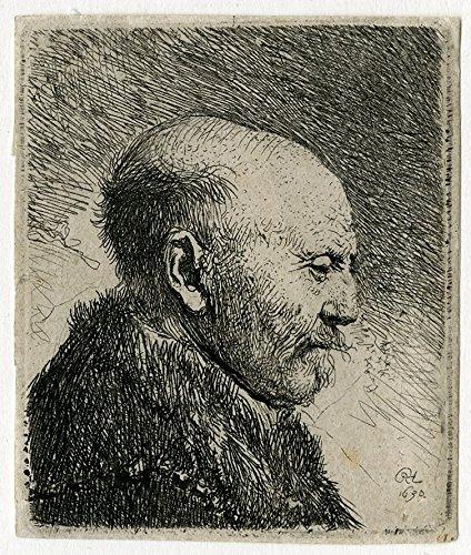 antico-master-print-genre-tronie-man-en-profil-rembrandt-1630