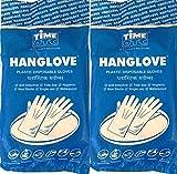 Time OTC Plastic Gloves, Pack of 2, Tran...
