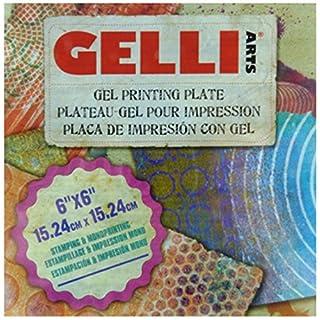 Gelli Arts 6 x 6-inch Gel Printing Plate