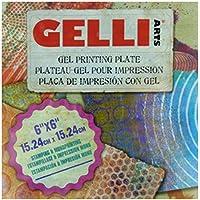Gelli Arts - Placa de impresión con gel (15.24 x 15.24 cm)