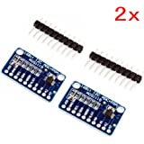JZK 2 x CJMCU-ADS1115 Mini 16 octets Convertisseur analogique-numérique de précision Module ADC Development Board