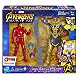 Hasbro Marvel Avengers Infinity War Iron Man vs. Thanos Hero Vision...