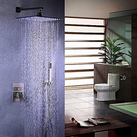jiayoujia acciaio inossidabile LED 8sistema di pioggia