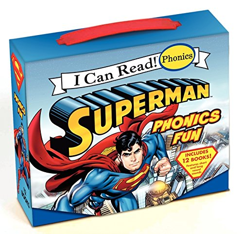 Superman Classic: Superman Phonics Fun (I Can Read! Phonics) por Lucy Rosen