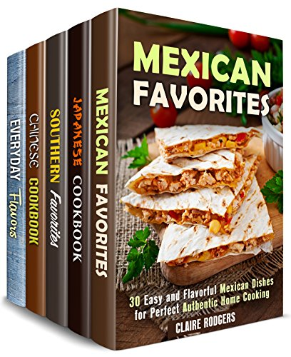 authentic-taste-box-set-5-in-1-over-150-traditional-mexican-japanese-chinese-southern-meals-and-famo
