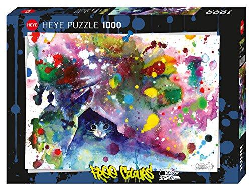 Heye 29825 Meow Standard 1000 Teile, Lara Zombie, Free Colours, Black