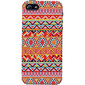 DailyObjects Kaotic Pattern Colorido Mobile Case For Iphone 5/5S