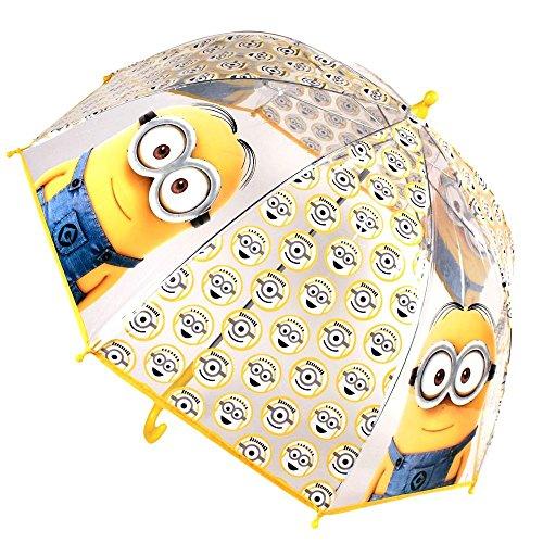 Cattivissimo Me 2 - Minions - ombrello per bambini - trasparente