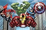 Enter-Deal-Berlin Party Game - Avengers - für 8 Kinder