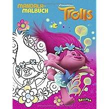 Trolls - Mandala Malbuch