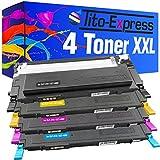 PlatinumSerie Set 4 Toner-Kartuschen XXL kompatibel für Samsung CLT-4092 CLP-310 K N CLP-315 K N W CLX-3170 N FN CLX-3175 N NF FW