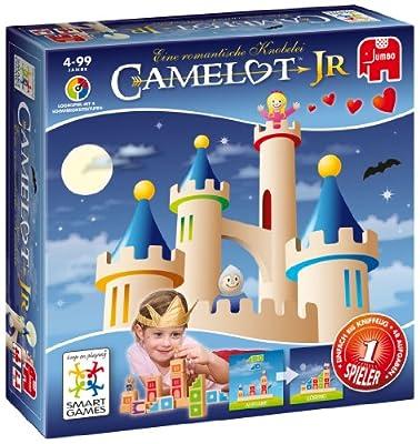 Jumbo Spiele 12781 Camelot Junior - Juego de construcción con bloques de Jumbo