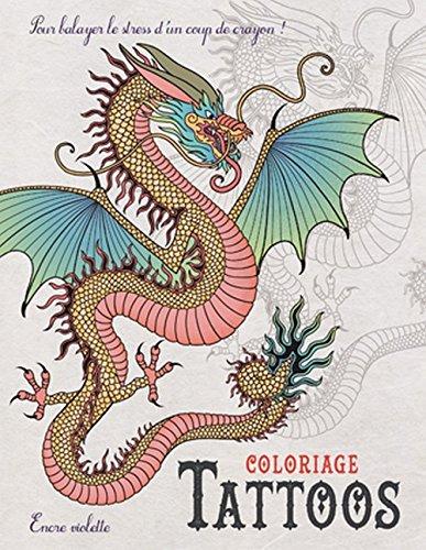 Coloriage Tattoos Petit Format par Collectif