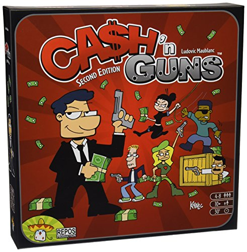 Repos Production- Cash 'N Guns (Asmodee ADE0CAS02ML)